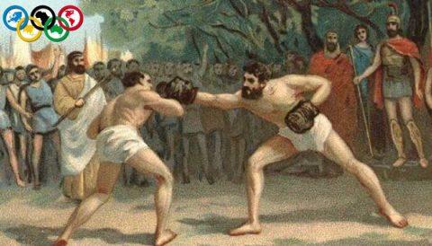 ilk olimpik spor boks
