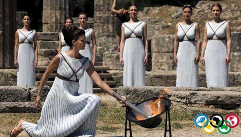 Olimpiyat ateşi, Olimpiyat meşalesi