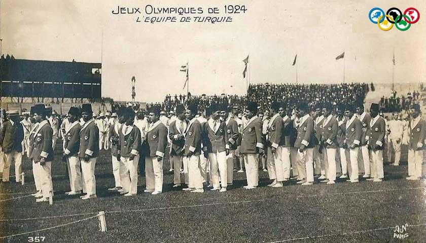 1924 olimpiyat oyunlarında Türkiye