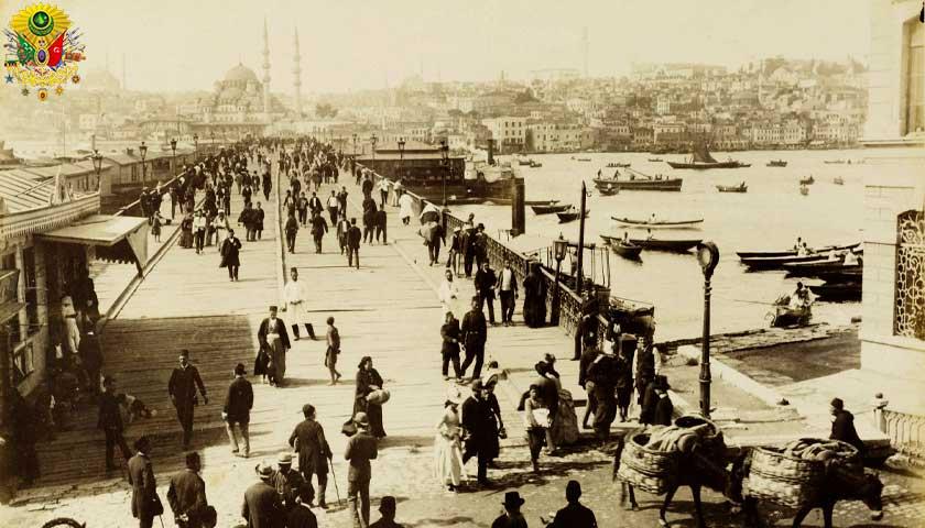 Osmanlı, Galata Köprüsü
