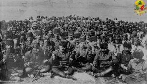 Birinci Dünya Savaşı, Osmanlı askerleri dua ederken