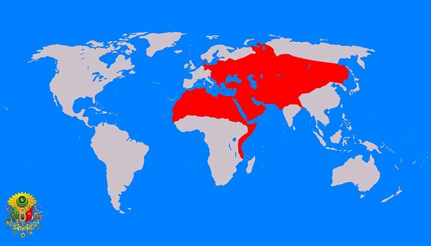 Dünya Haritası, Osmanlı Devleti