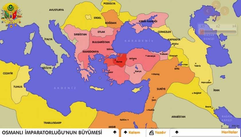 Osmanlı İmparatorluğu büyümesi