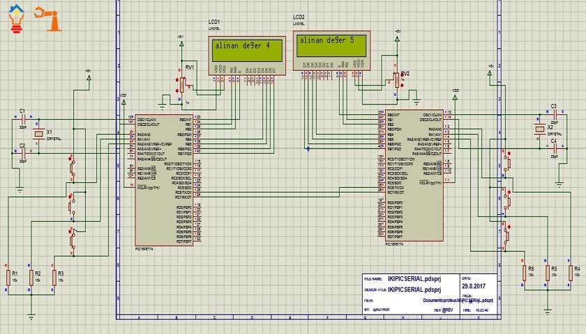 Mikrodenetleyici ile Seri İletişim